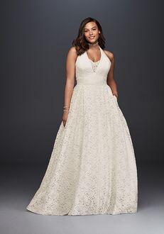 David's Bridal Galina Style 9WG3844 Ball Gown Wedding Dress