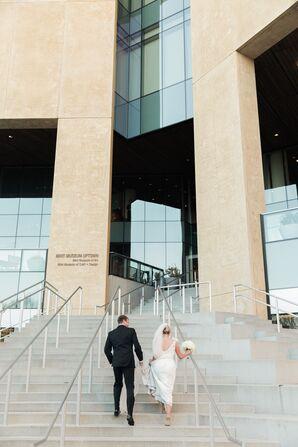 Mint Museum Uptown Modern, Artistic Wedding