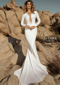IVOIRE by KITTY CHEN BRITTANY,V2114 Sheath Wedding Dress
