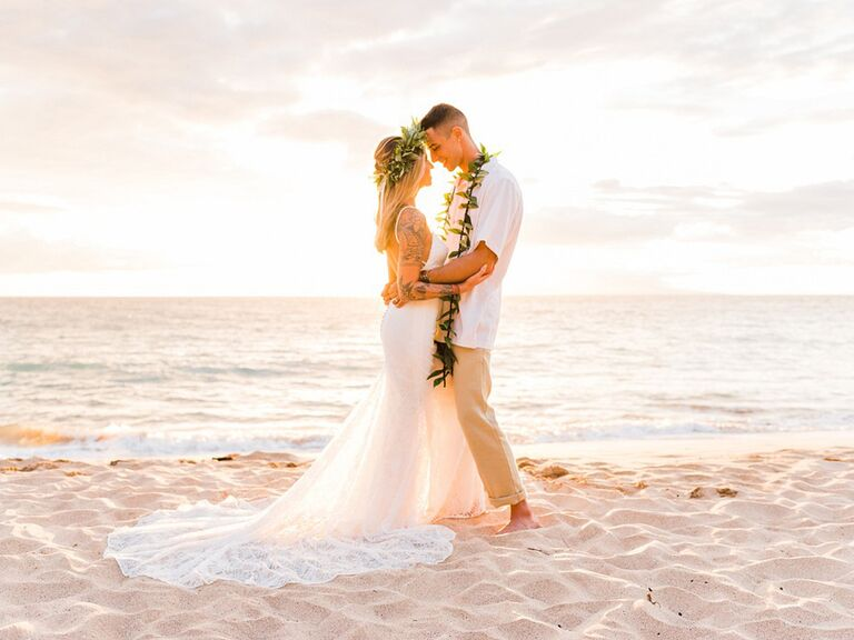 Palauea Beach Hawaii Destination Wedding