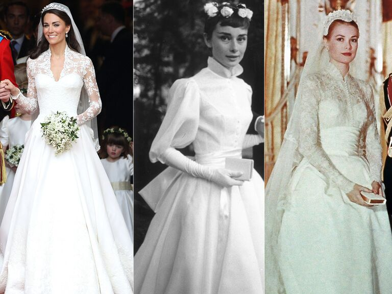 Kate Middleton Wedding Dress Audrey Hepburn Grace Kelly