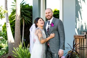 Modern, Eclectic Couple at Comal in Berkeley, California