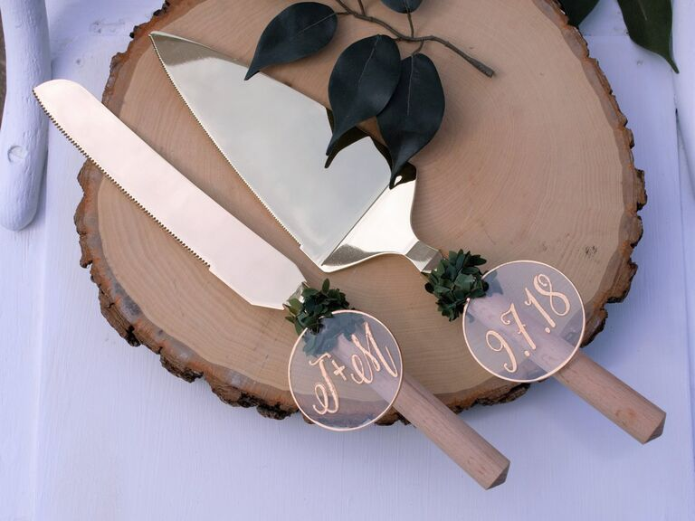 16 Wedding Cake Knife Sets You Ll Love