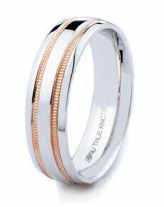 TRUE KNOTS True Man - 2TR301PL Palladium, Platinum, White Gold Wedding Ring