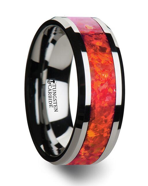 Mens Tungsten Wedding Bands W1966-TRO Tungsten Wedding Ring