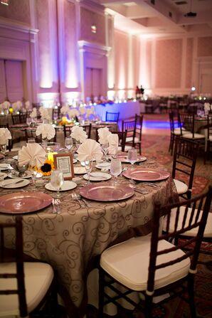 Reception at Founders Inn Ballroom