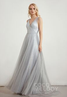 CocoMelody Bridesmaid Dresses CB0286 V-Neck Bridesmaid Dress