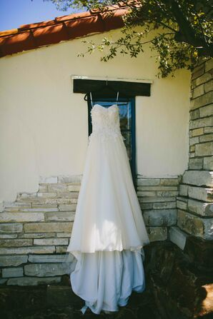 Essence of Australia Lace Applique Wedding Dress
