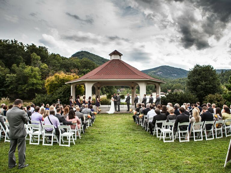 Asheville wedding venue in Lake Lure, North Carolina.