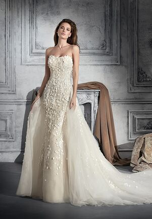 Demetrios 762 Sheath Wedding Dress