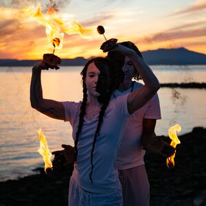 Seattle, WA Fire Dancer | PropDanceCulture