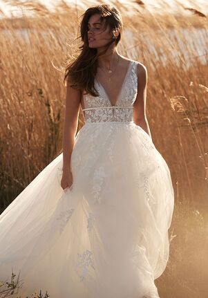 Lillian West 66155 A-Line Wedding Dress