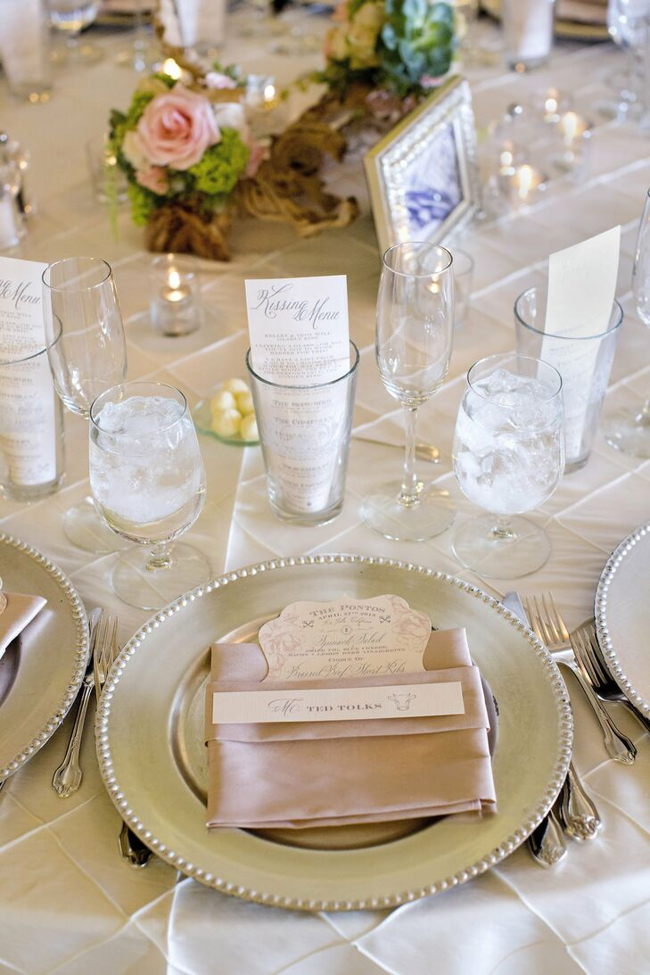 Reception Place Setting