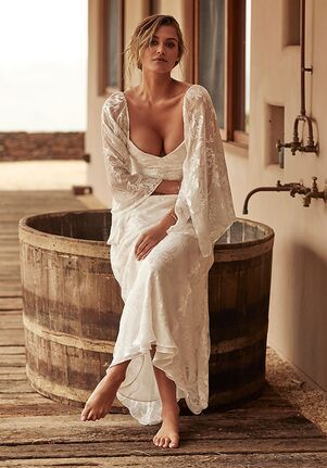 Grace Loves Lace Loyola with Sleeves Sheath Wedding Dress