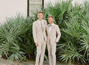 For Nicklaus Heath (35 and a dentist) and Sid Williams (26 and an executive director of a theater), an intimate 30-person wedding  inspired them to fo