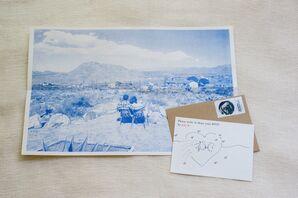 Vintage Postcard-Inspired Stationery