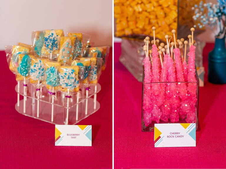 dessert bar and candy at Admire & Be Inspired party