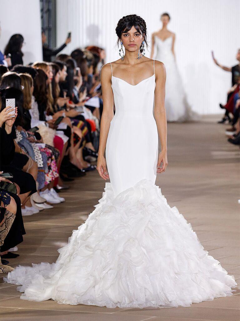 Ines Di Santo wedding dress mermaid dress