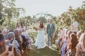 Modern Recessional at Flora Farms in San Jose del Cabo, Mexico