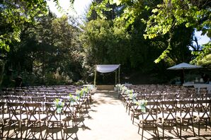 Simple Golden Gate Park Ceremony With Chuppah