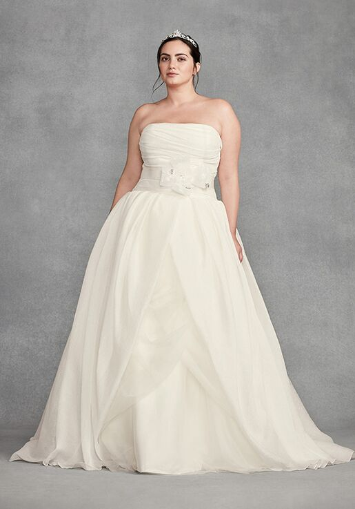 cc42cf435f3 White by Vera Wang White by Vera Wang Style 8VW351178 Ball Gown Wedding  Dress