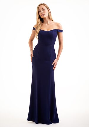 JASMINE P226010 Off the Shoulder Bridesmaid Dress