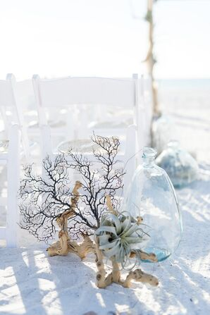 Beach-Themed Aisle Decorations