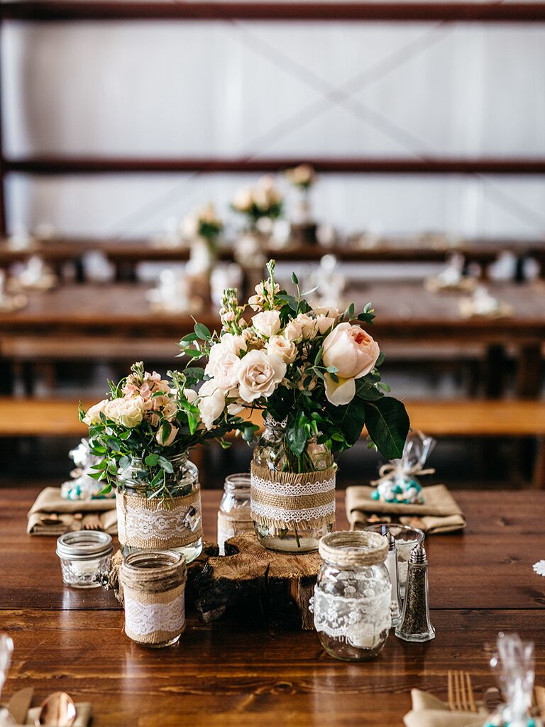 Awe Inspiring 15 Centerpiece Ideas For A Rustic Wedding Download Free Architecture Designs Grimeyleaguecom
