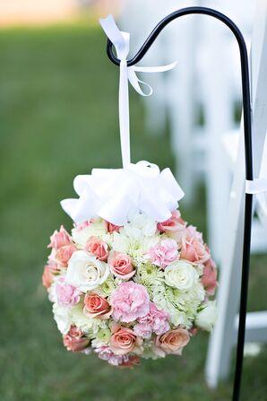Carnation, Mum and Rose Aisle Pomanders