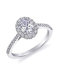 Coast Diamond Elegant Oval Cut Engagement Ring