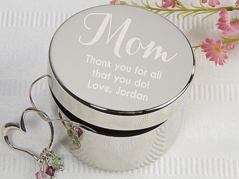 An Engraved Silver Trinket Box Is A Simple Heartfelt Idea For Mother Of The