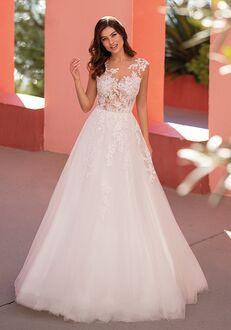 WHITE ONE FELICIDAD A-Line Wedding Dress