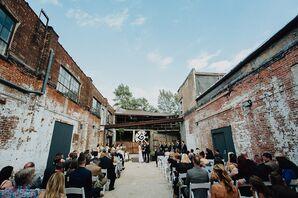 Industrial Courtyard Ceremony