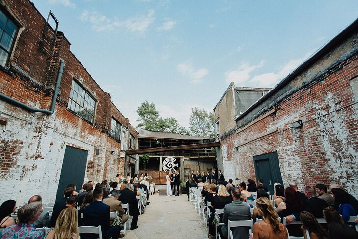 Industrial Courtyard Ceremony