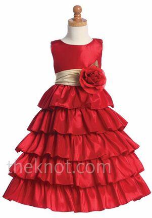 702c1b726807 Taffeta Flower Girl Dresses