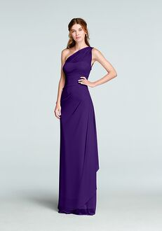 David's Bridal Collection David's Bridal Style F19074 One Shoulder Bridesmaid Dress