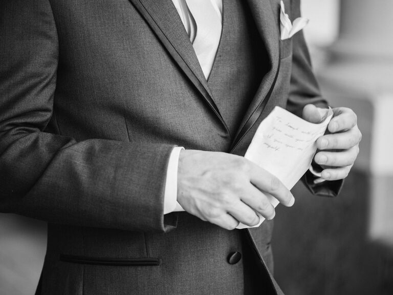 Tips for the Groom's Toast - Grooms & Guys - Groom Tips