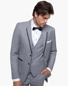 Generation Tux Light Gray Notch Lapel Tux Gray Tuxedo