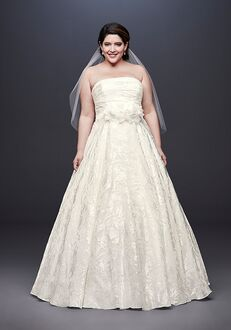 David's Bridal David's Bridal Style 9NTWG3907 A-Line Wedding Dress