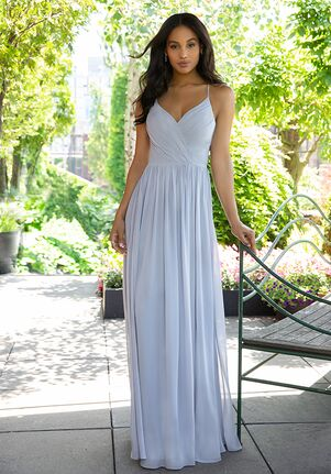 Hayley Paige Occasions 5855 V-Neck Bridesmaid Dress