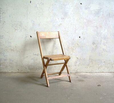 $2.50 Vintage Wooden Chair Rental