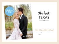 The Knot Texas wedding magazine spring 2016