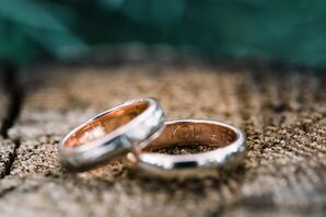 Classic Engraved Wedding Rings