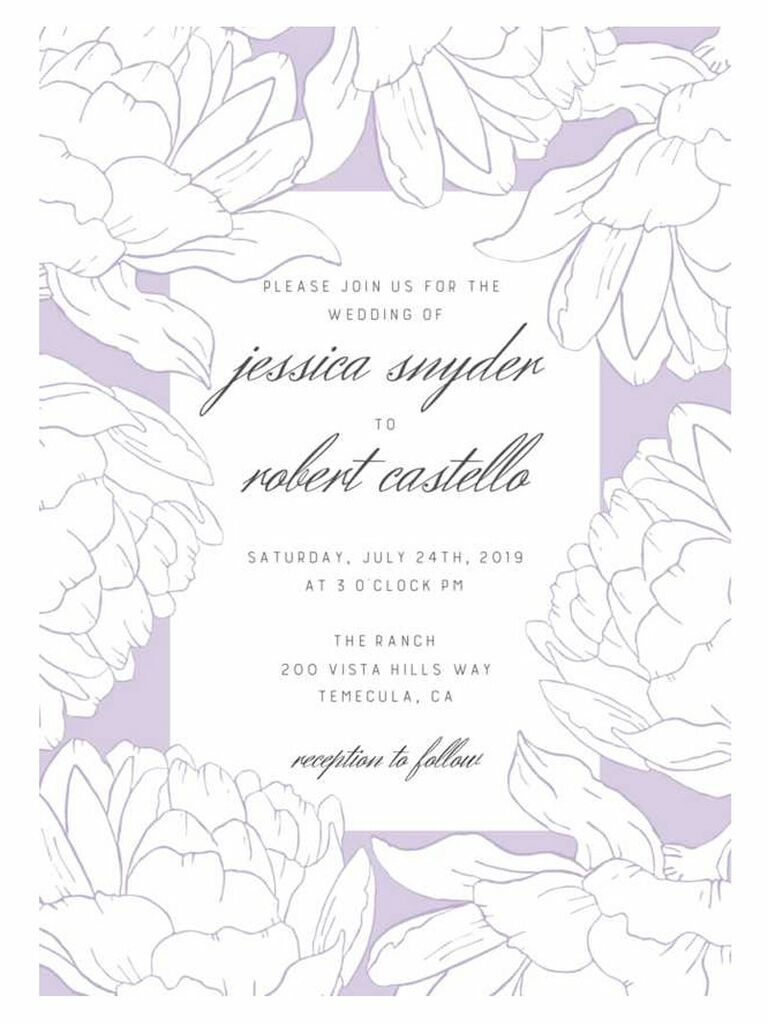 Cheap Wedding Invitations Online.50 Spring Wedding Invitations You Can Order Online