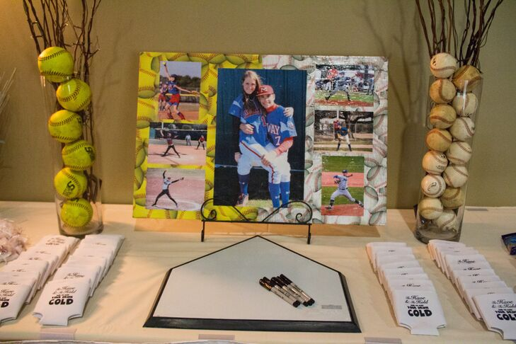 Brilliant Baseball Themed Home Plate Guest Book Download Free Architecture Designs Rallybritishbridgeorg