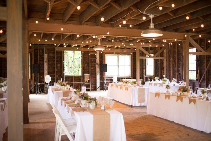 Bluefield Farm Barn Wedding Reception