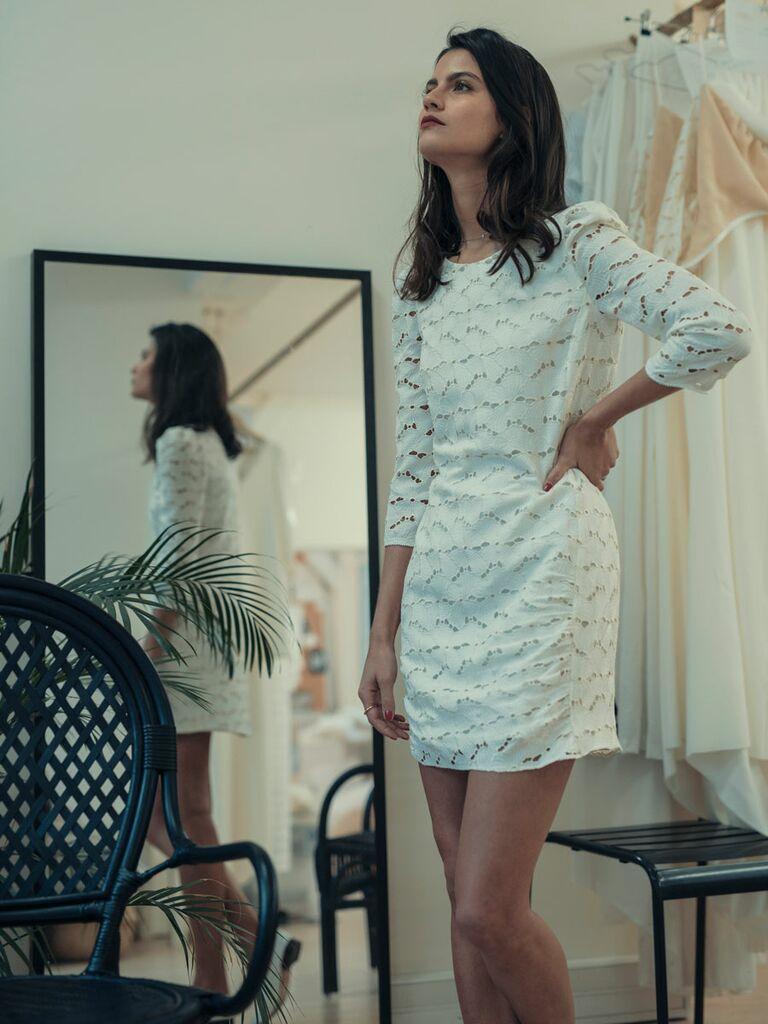 Laure de Sagazan Spring 2019 Collection: Bridal Fashion Week Photos