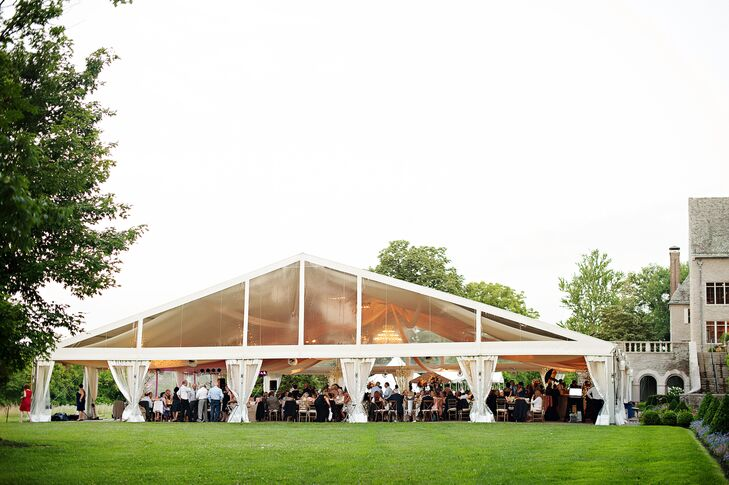 Greenacres Arts Center Tented Reception