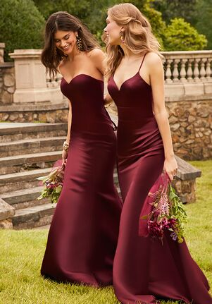 Camille La Vie & Group USA 46343_46353_WINE Bridesmaid Dress
