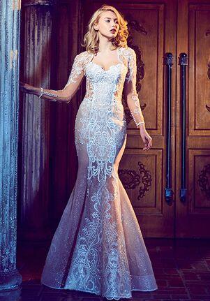 Calla Blanche 17261 Floella Sheath Wedding Dress